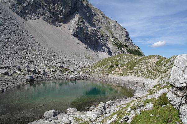 Bergtour , Brendlisee im Brendlcar , Austria, mountains, great, Tour
